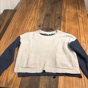 Cropped madewell sweater size medium